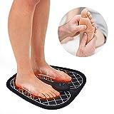 EMS Elektrische Fußmassageräte Niederfrequenzimpulse Muskelstimulation Fußmassagekissen, Intelligente Physiotherapie Massagegerät zur Verbesserung der Durchblutung