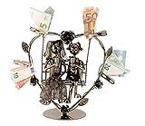 Metall Figur Hochzeit Paar Schaukel Geldgeschenk