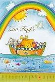 bsb Grußkarte Glückwunschkarte zur Taufe'Zur Taufe' mit Arche Noah und Regenbogen