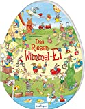 Das Riesen-Wimmel-Ei: Riesenbilderbuch in Ei-Form für Kinder ab 3 Jahren, besonderes Oster-Geschenk
