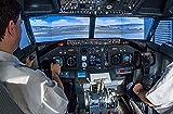 JOCHEN SCHWEIZER Geschenkgutschein: Boeing 737 Flugsimulator inkl. Tour am Frankfurter Flughafen