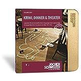 Jochen Schweizer Erlebnis-Box Krimi, Dinner und Theater für 2, mehr als 150 Erlebnisse für 2 Personen, Dinner-Gutschein