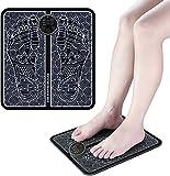 EMS Fußmassageräte,EMS Elektrisches Fußmassagegerät, Intelligente Fussmassagegerät, Fußmassage für die Durchblutung, Massagematte Muskel Stimulatior mit 6 Modi 15 Intensität