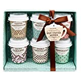 Modern Gourmet Foods - Heiße Schokolade Geschenkset - Probierset Mit 6 Verschiedene Kakao-Mischungen - 6 x 28g
