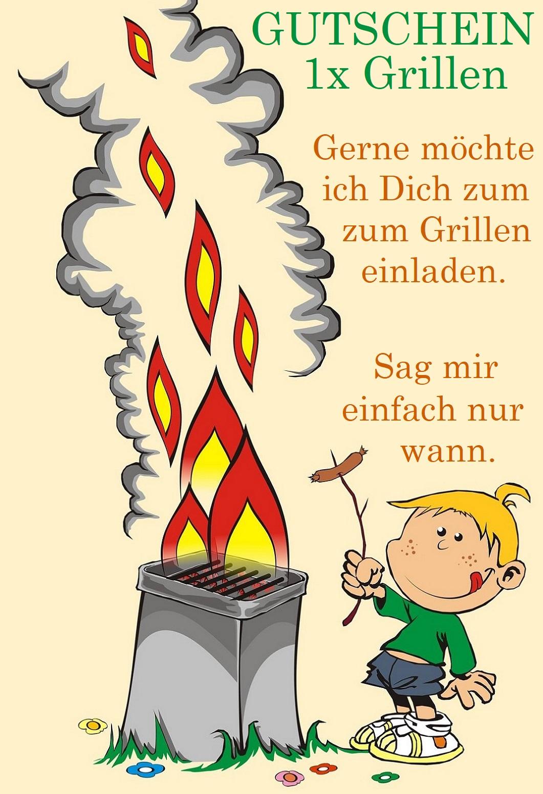 Grill Gutschein Zum Ausdrucken