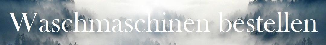 Waschmaschinen Banner