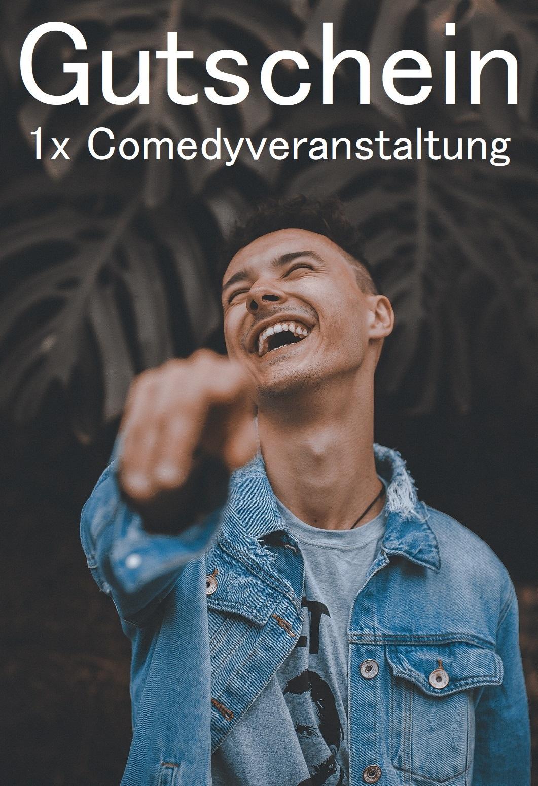 Comedy Gutscheinvorlage
