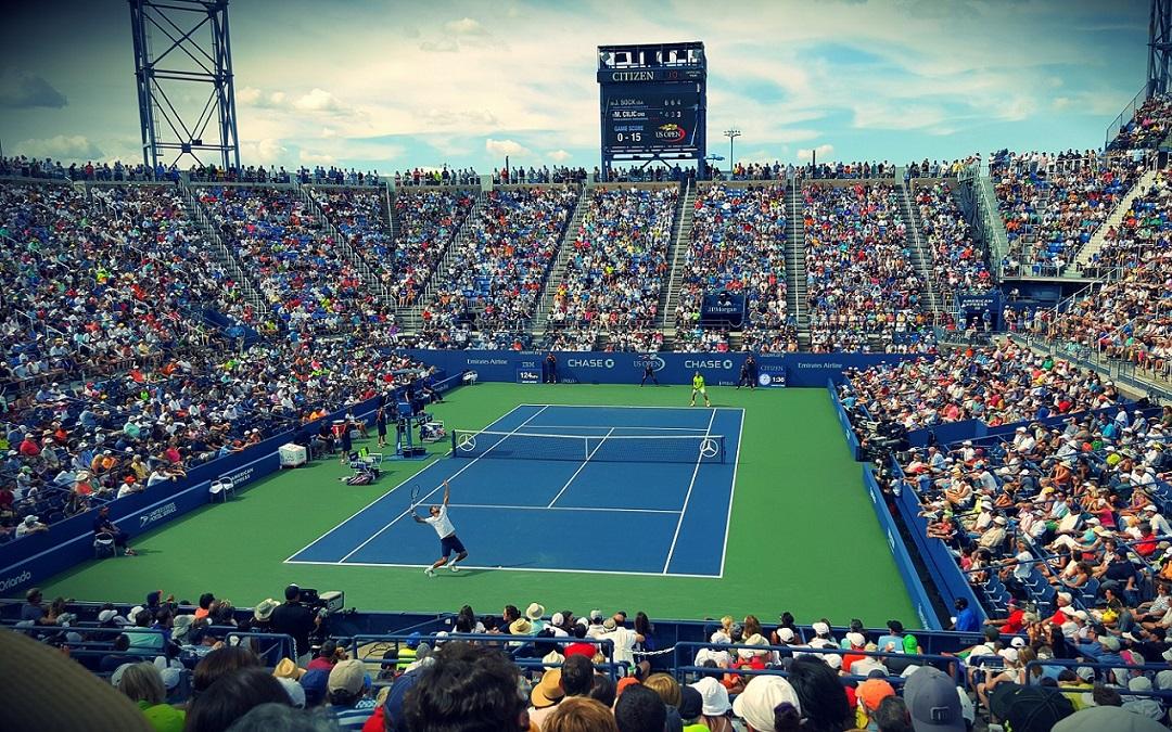 Blanko Gutscheinvorlage für Tennis