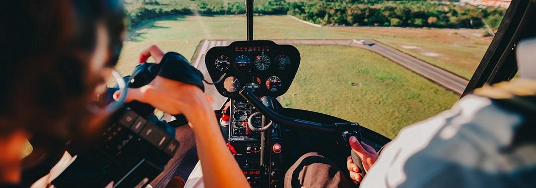 Helikopter selbst fliegen