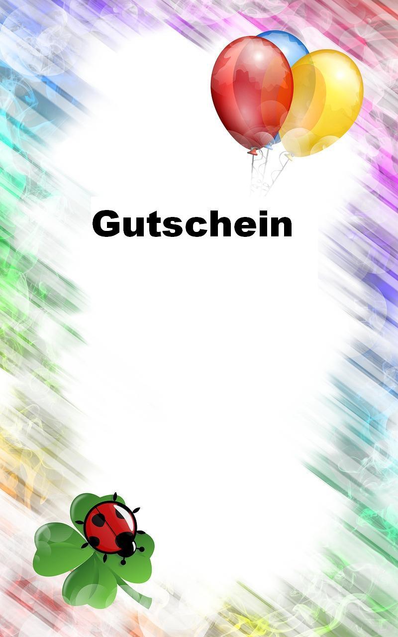 Colorful Expense Gutschein Vorlage Embellishment - FORTSETZUNG ...