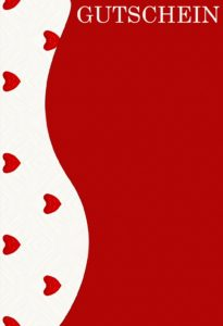 Gutscheinvorlage Valentinstag 1