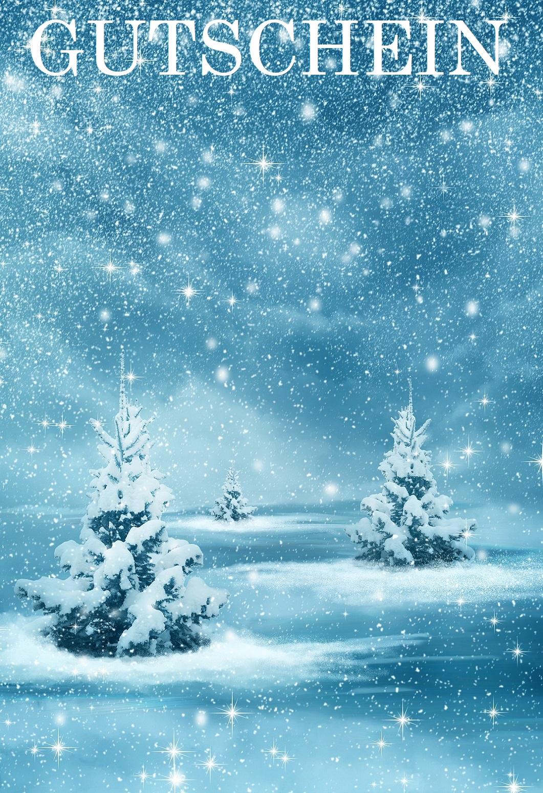 Gutschein Springendes Rentier Mit Weihnachtskugel 5