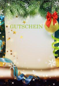 Gutscheinvorlagen Weihnachten 9