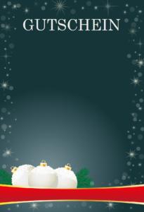 Gutscheinvorlagen Weihnachten 6
