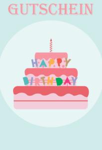 Gutscheinvorlage Geburtstag 1