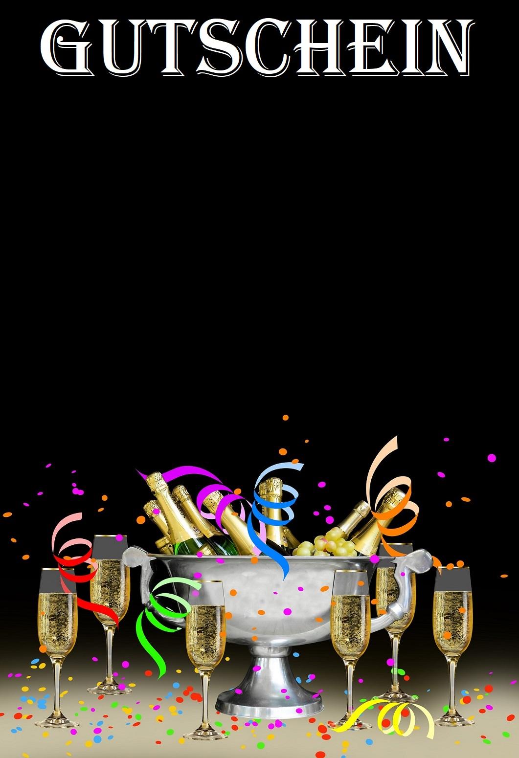 Gutschein Vorlage Geburtstag 4