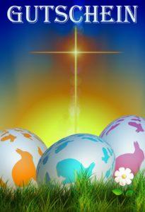 Gutscheinvorlage Ostern 1