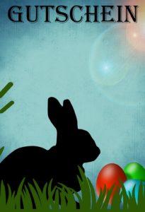 Gutscheinvorlage Ostern 2