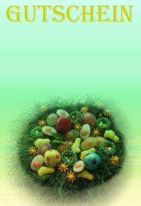 Gutschein Vorlage Ostern 3