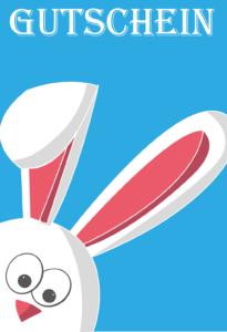 Gutschein Vorlage Ostern 4
