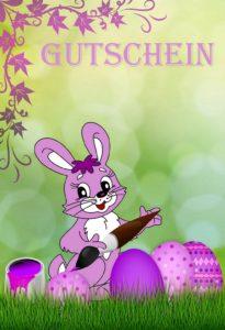 Gutscheinvorlagen Ostern 6