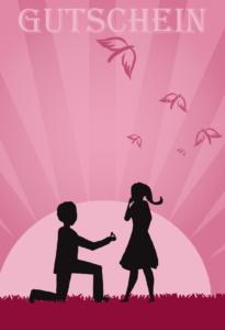 Gutschein Vorlage Hochzeit 3