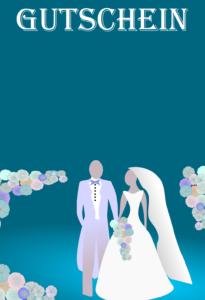 Gutschein Vorlagen Hochzeit 9