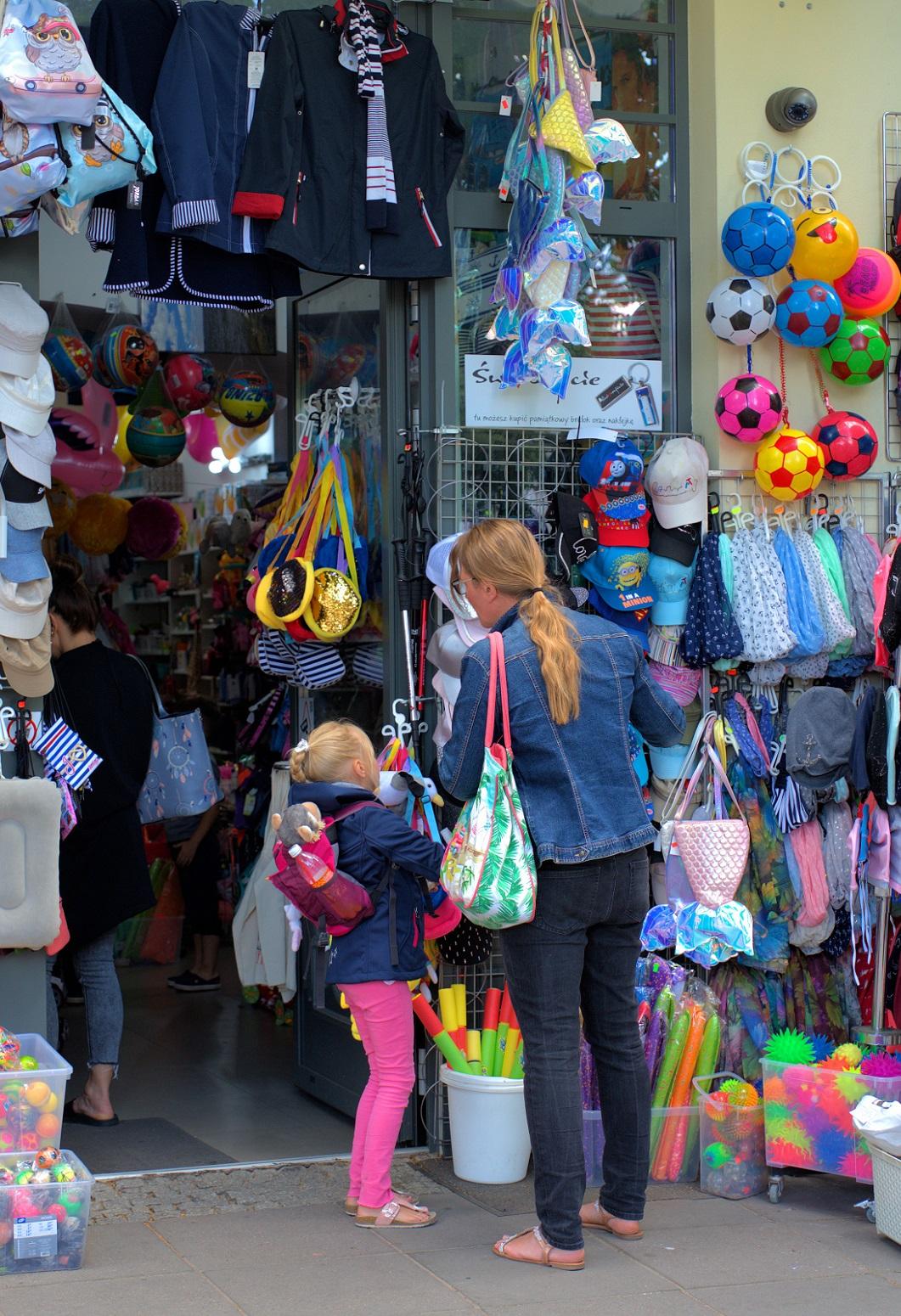 Gutscheinvorlage Shopping