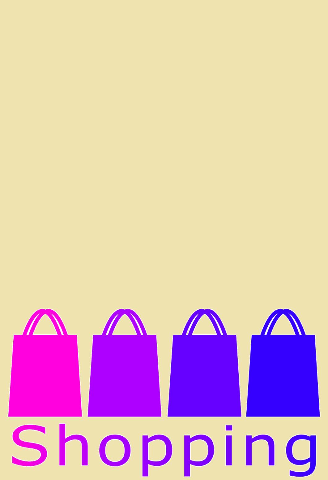 Klappkarte Fur Geldgeschenke 2239 015 Shopping