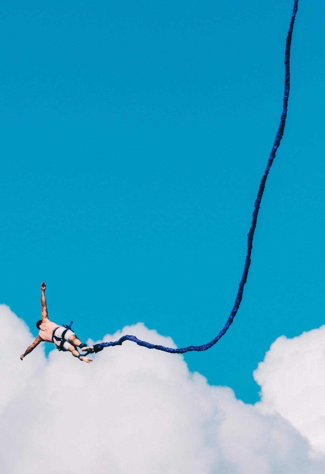 Gutscheinvorlage Bungee Jumping