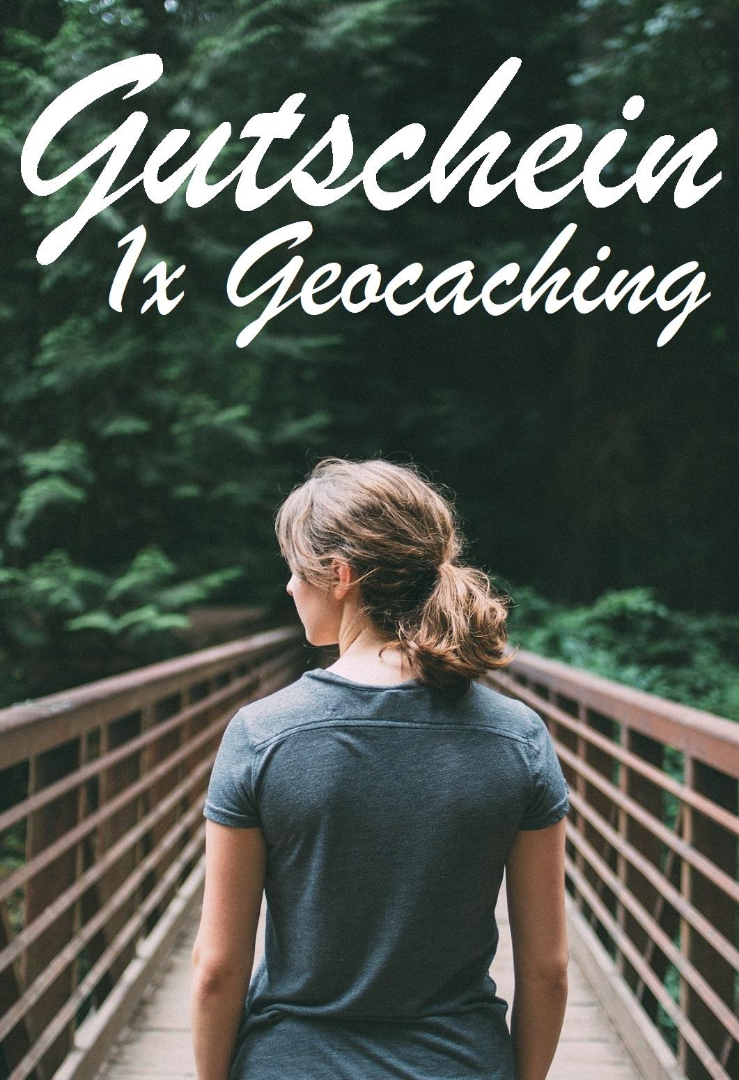 Gutscheinvorlage fürs Geocaching