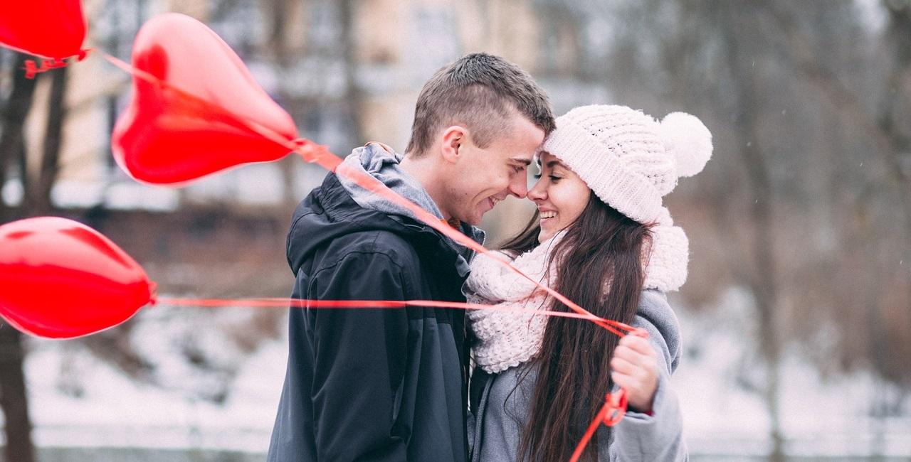 Liebesbotschaften mit Herz