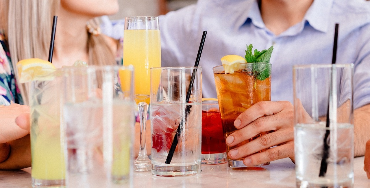 Gemeinsam etwas trinken