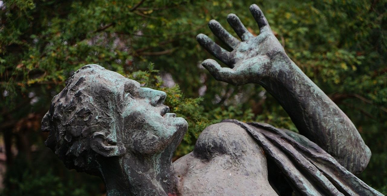 Konfuzius Skulptur