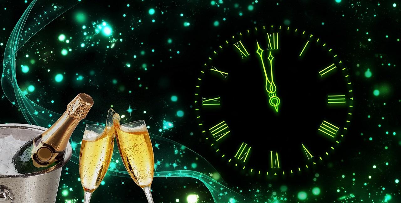Bald ist Neujahr