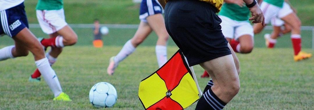 Sportschuhe beim Fußball