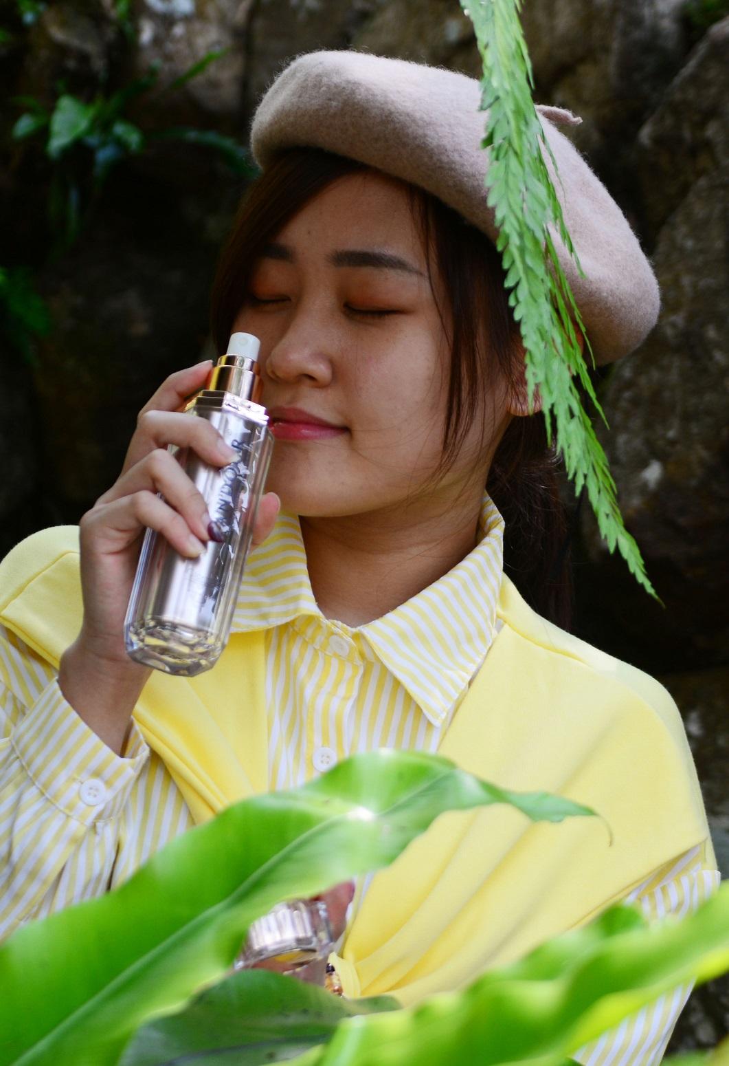 Gutscheinvorlage Parfum