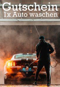 Gutscheinvorlage Auto waschen 2