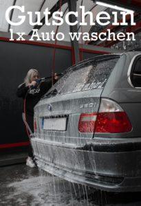 Gutscheinvorlage Auto waschen 3