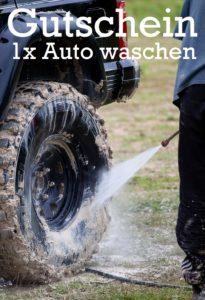 Gutscheinvorlage Auto waschen 4