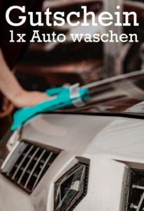Gutscheinvorlage Auto waschen 5