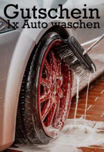 Gutscheinvorlage Autowaschen 6
