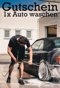 Gutscheinvorlage Autowaschen 8