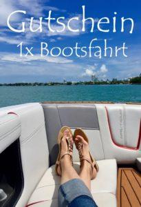 Bootsfahrt Erlebnisgutscheine