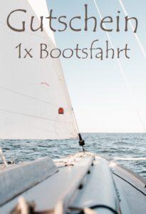 Gutscheinvorlage Bootsfahrten