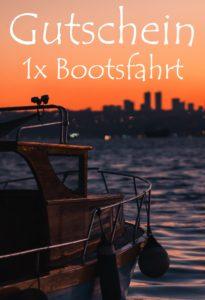 Gutscheinvorlage Bootsfahrt