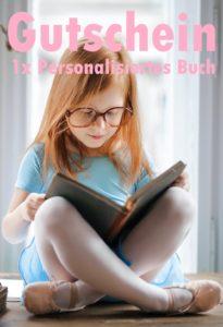 Gutscheinvorlage personalisierte Bücher