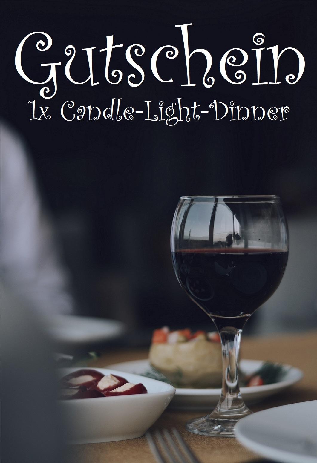 Candle machen gutschein light dinner selber Gutschein für