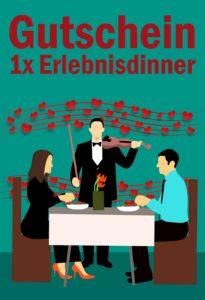 Gutscheinvorlage Dinner