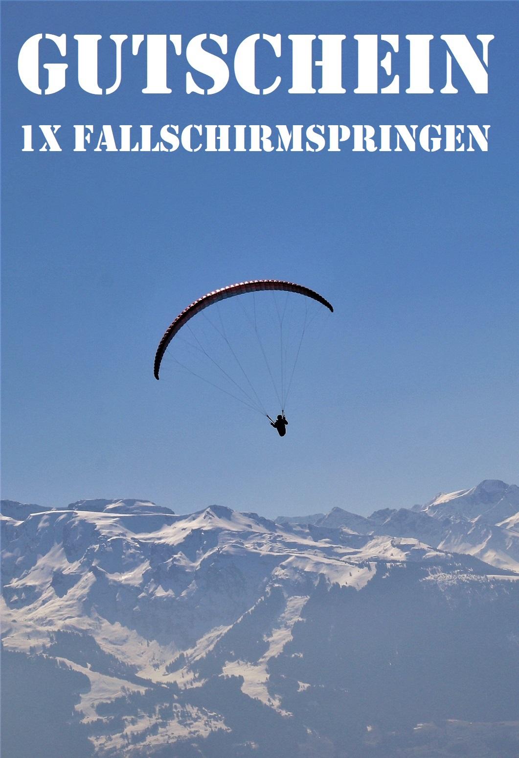 Tandem Gutschein Yuu Skydive E V Fallschirm